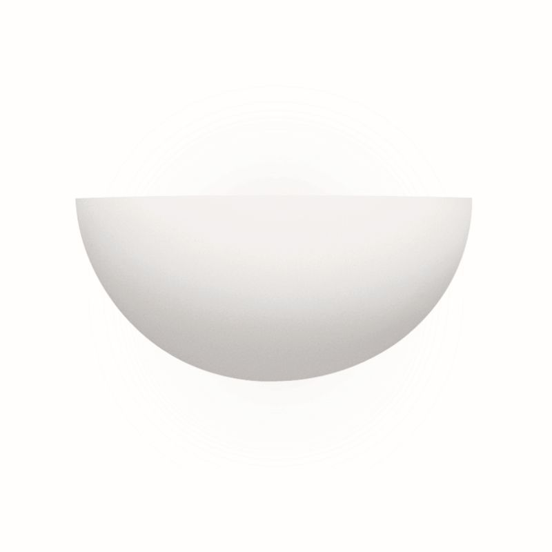 Searchlight-106 - Wall - White Plaster Uplighter Wall Lamp