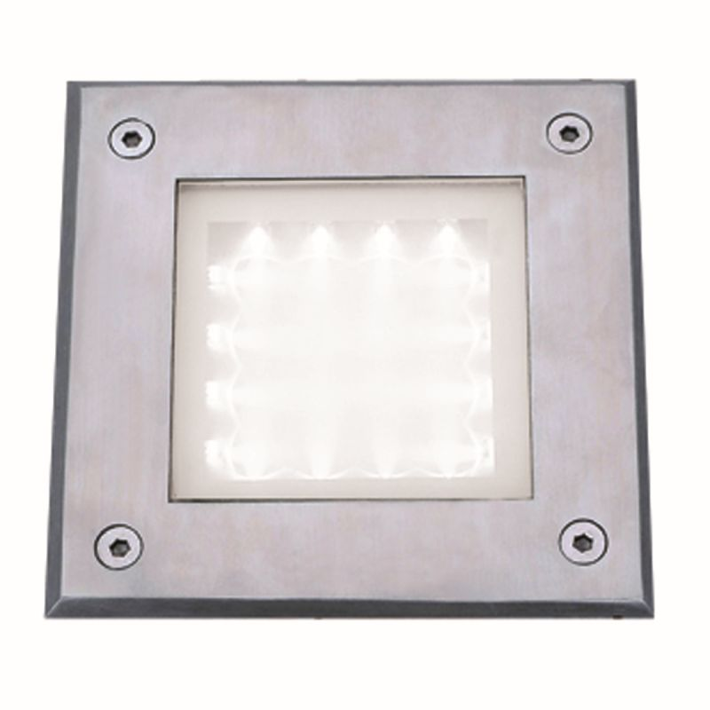 Searchlight-9909WH - LED outdoor - Stainless Steel Recessed Light
