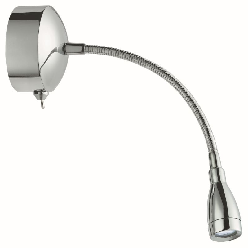 Searchlight-9917CC - LED Picture Light - Chrome Adjustable Wall Lamp