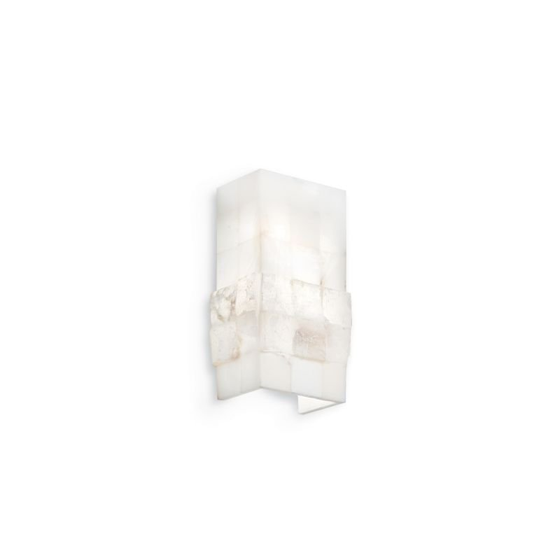IdealLux-015125 - Stones - Small White Stone Up and Down Wall Lamp