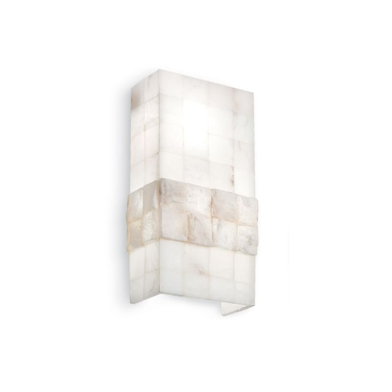IdealLux-015132 - Stones - Big White Stone Up and Down Wall Lamp