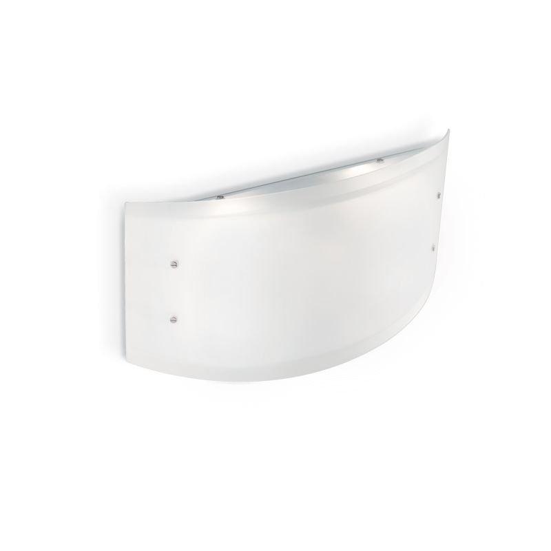 IdealLux-026565 - Ali - Big White Glass 4 Light Wall Lamp