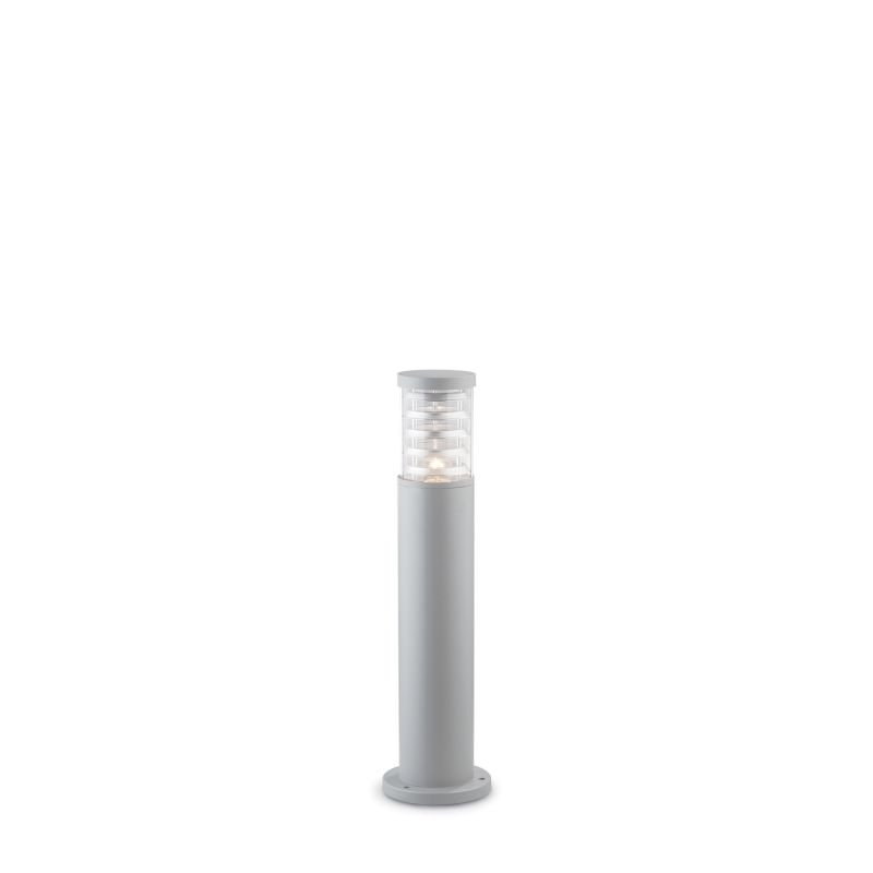 IdealLux-026954 - Tronco - Outdoor Grey with Glass Small Bollard