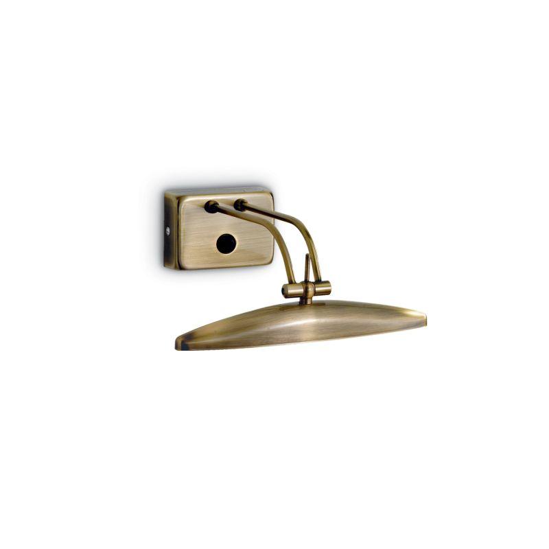 IdealLux-017327 - Mirror-20 - Antique Brass 2 Light Picture Lamp