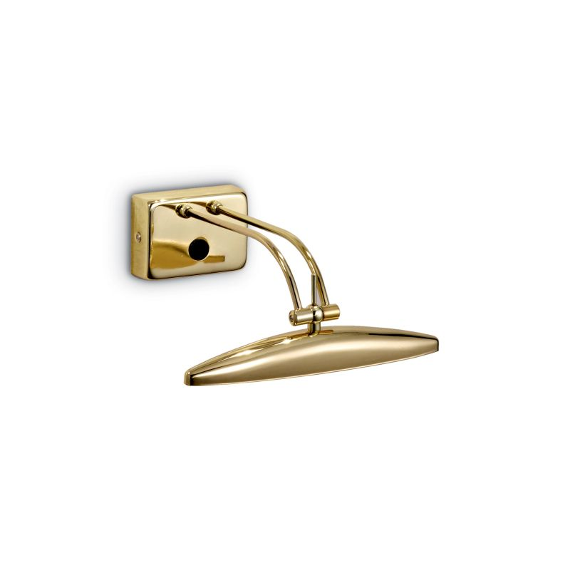 IdealLux-031507 - Mirror-20 - Brass 2 Light Picture Lamp