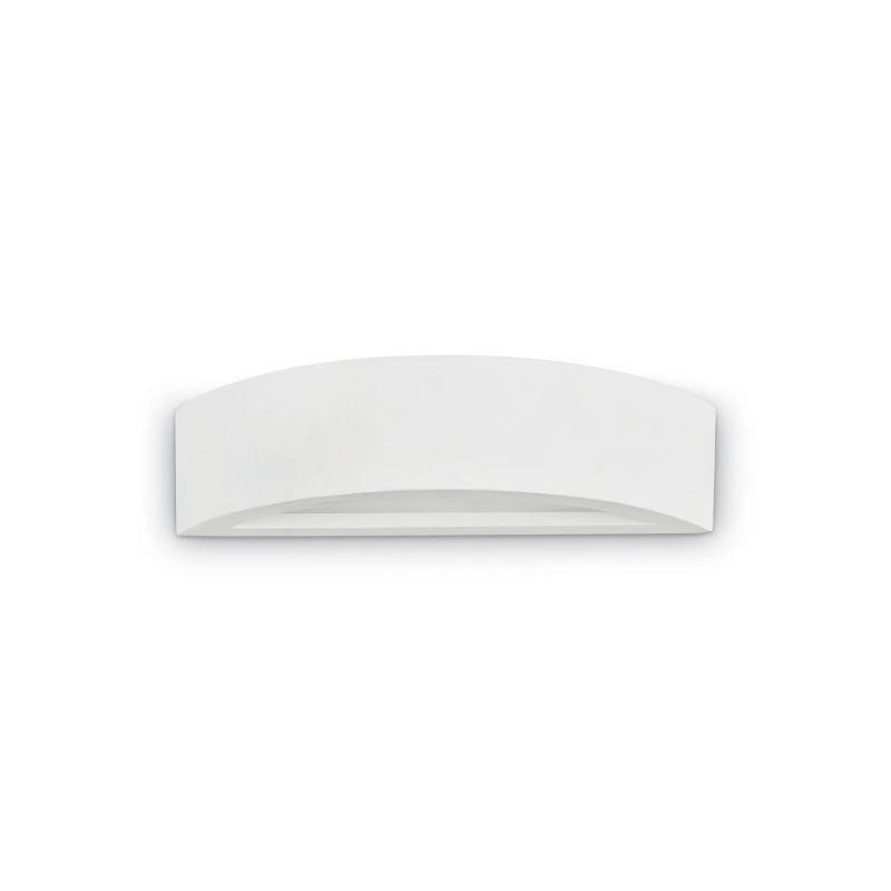 IdealLux-105710 - Whisky - White Plaster Wall Light H:7.5cm