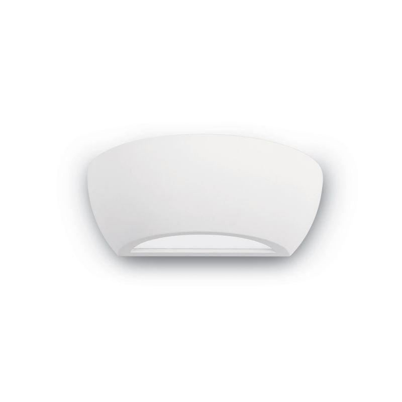 IdealLux-105734 - Tonic - White Plaster Wall Light H:13cm