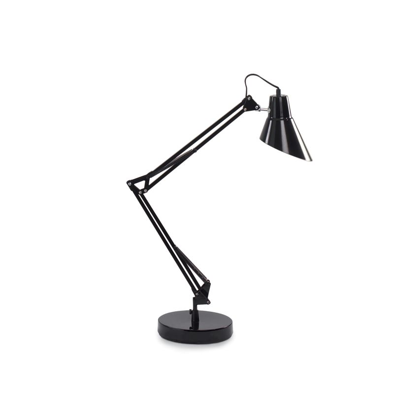 IdealLux-061160 - Sally - Adjustable Black Metal Desk Lamp