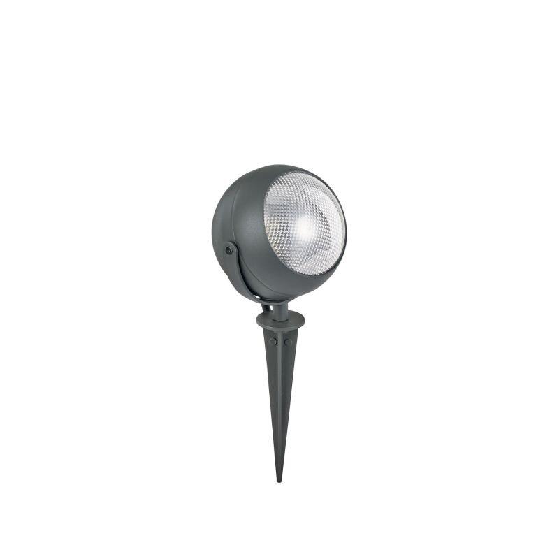 IdealLux-108407 - Zenith - Outdoor Anthracite Globe Spike Spots
