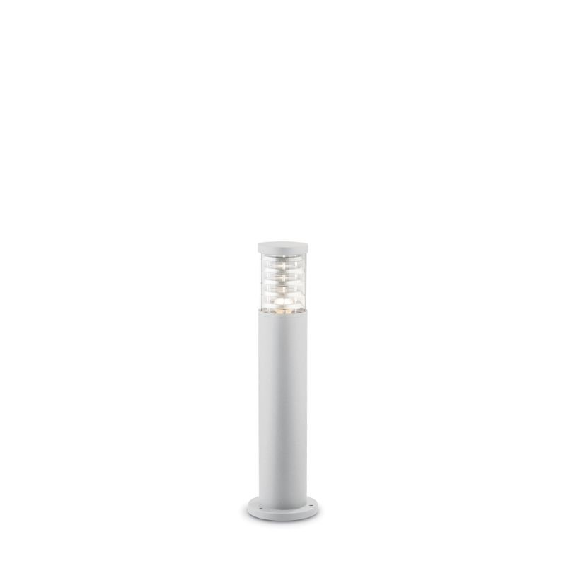 IdealLux-109145 - Tronco - Outdoor White with Glass Small Bollard