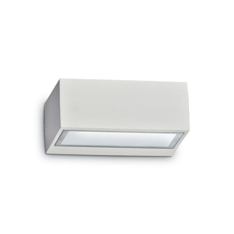 IdealLux-115351 - Twin - Outdoor White Wall Lamp