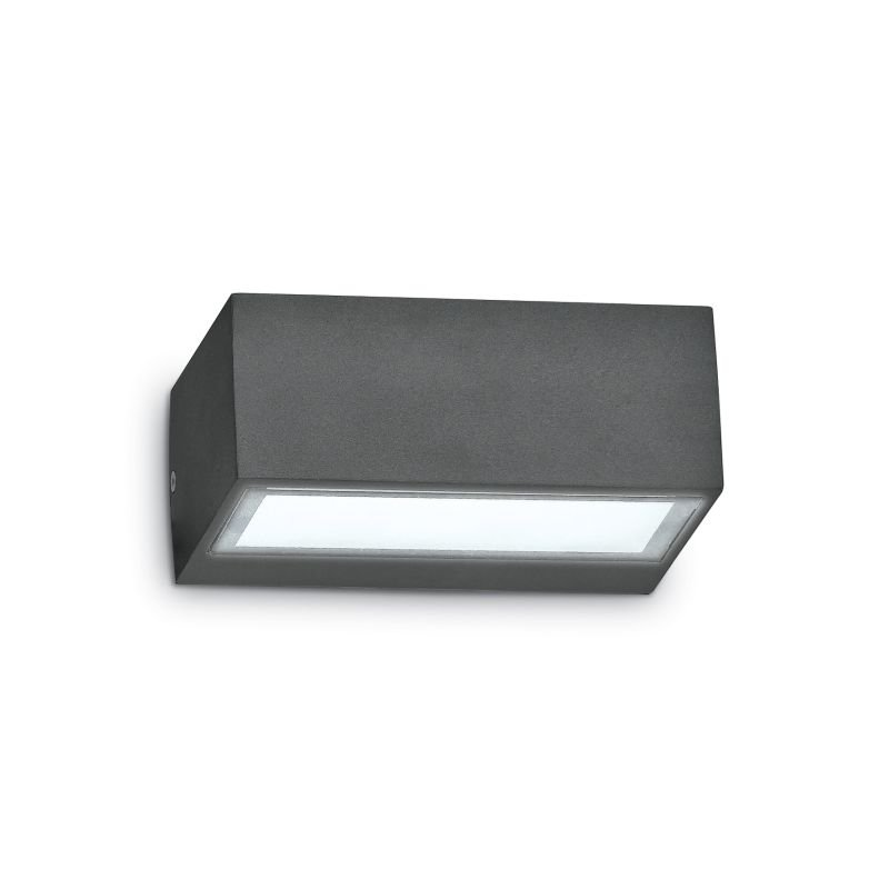 IdealLux-115368 - Twin - Outdoor Anthracite Wall Lamp