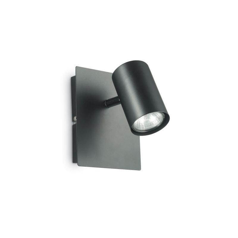 IdealLux-115481 - Spot - Black Metal Single Spots Light