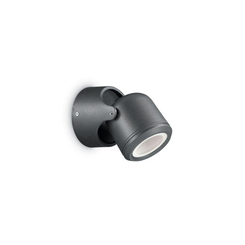 IdealLux-129464 - Xeno - Outdoor Black Single Wall Lamp