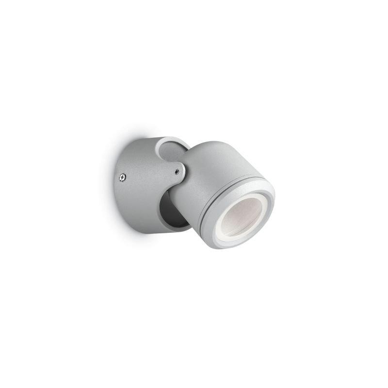 IdealLux-129471 - Xeno - Outdoor Grey Single Wall Lamp