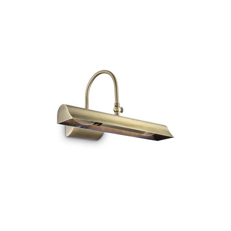 IdealLux-144917 - Retro - Antique Brass 2 Light Picture Lamp