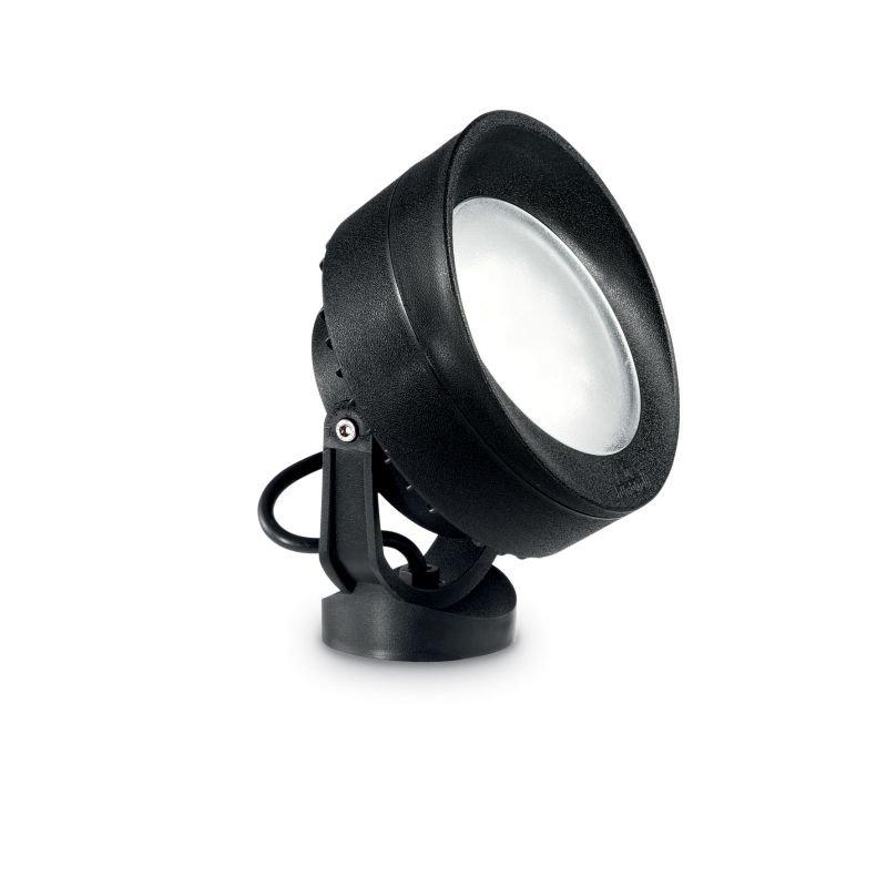 IdealLux-145358 - Tommy - Outdoor Black Round Spike Spots