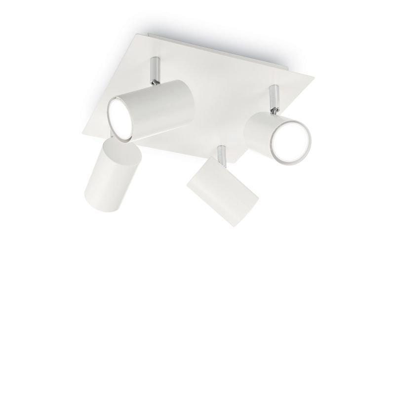 IdealLux-156774 - Spot - White Metal Four Spots Light