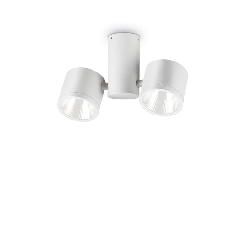 IdealLux-161853 - Sunglasses - Outdoor White 2 Lights Ceiling Lamp
