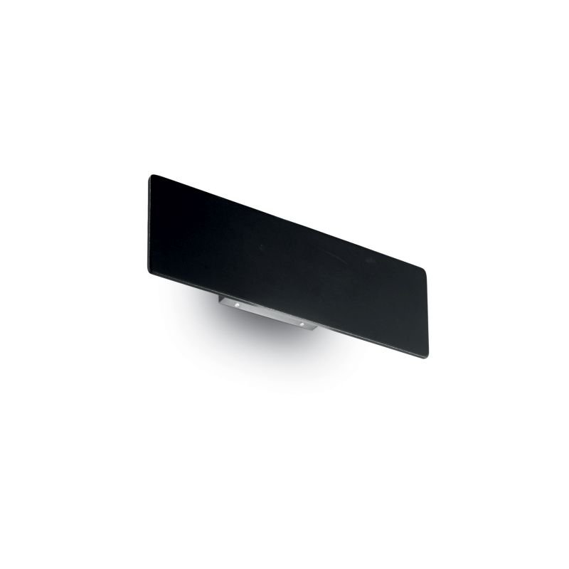 IdealLux-179315 - Zig Zag - Small LED Black Rectangle Wall Lamp -6mm