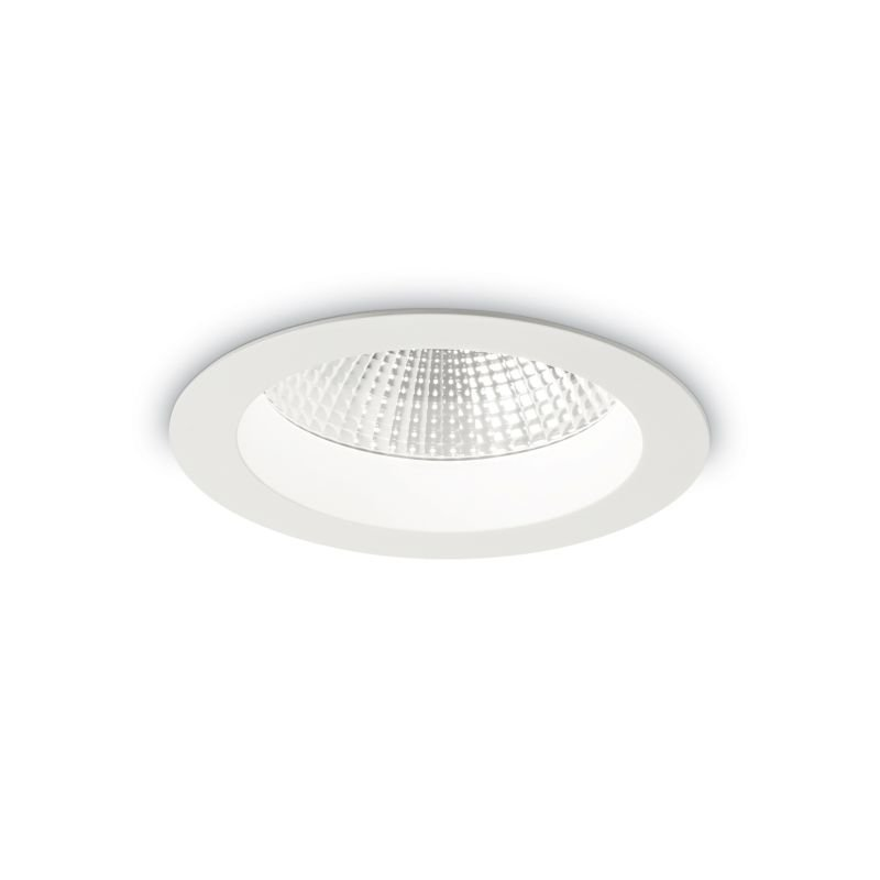 IdealLux-193366 - Basic - LED Round White Recessed Ceiling Light 1550LM