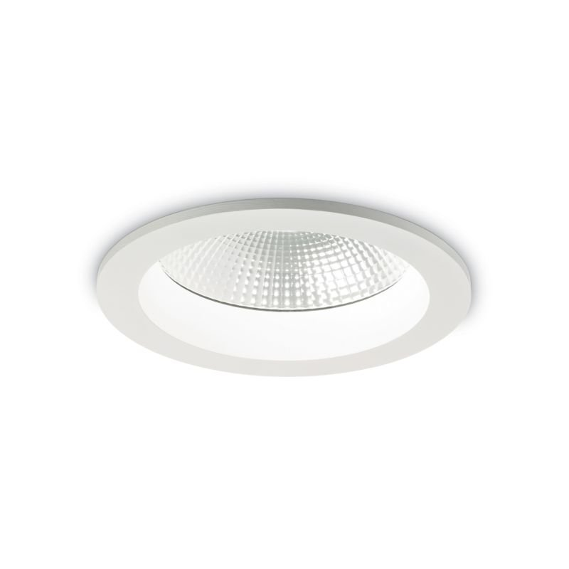 IdealLux-193380 - Basic - LED Round White Recessed Ceiling Light 2550LM
