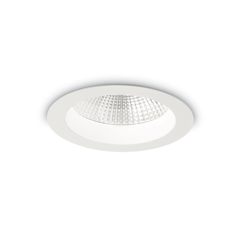 IdealLux-193472 - Basic - LED Round White Recessed Ceiling Light 1650LM