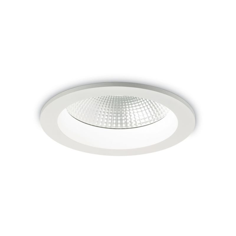 IdealLux-193489 - Basic - LED Round White Recessed Ceiling Light 2400LM