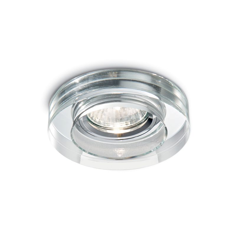 IdealLux-083254 - Blues - Round Clear Glass Recessed Downlight