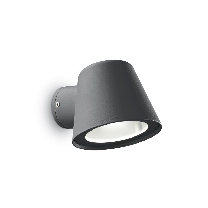 IdealLux-091525 - Gas - Outdoor Antracite with Glass Wall Lamp
