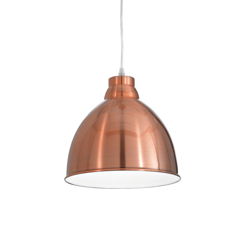 IdealLux-020747 - Navy - Copper Metal Single Hanging Pendant