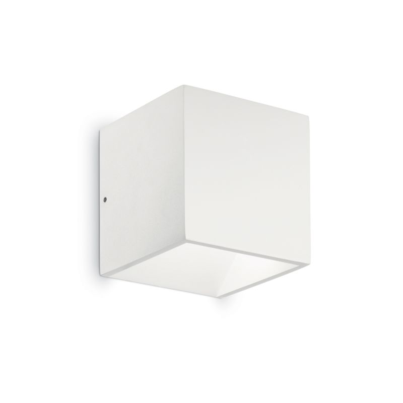 IdealLux-149745 - Rubik - Outdoor White LED Up&Down Single Wall Lamp