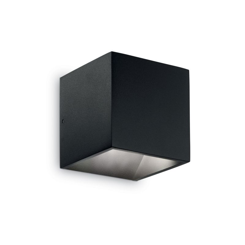 IdealLux-142302 - Rubik - Outdoor Black LED Up&Down Single Wall Lamp