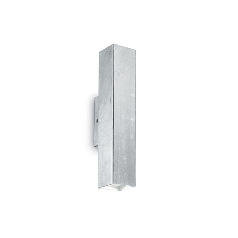 IdealLux-136882 - Sky - Silver Metal Rectangle Up&Down Wall Lamp