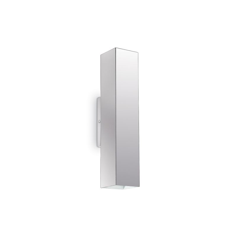 IdealLux-136905 - Sky - Chrome Metal Rectangle Up&Down Wall Lamp