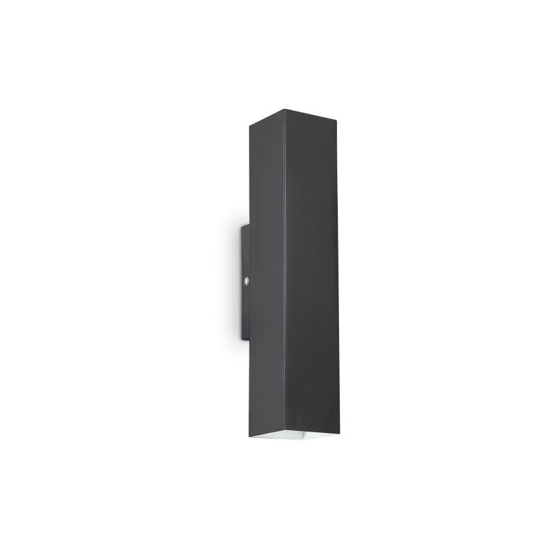 IdealLux-126890 - Sky - Black Metal Rectangle Up&Down Wall Lamp