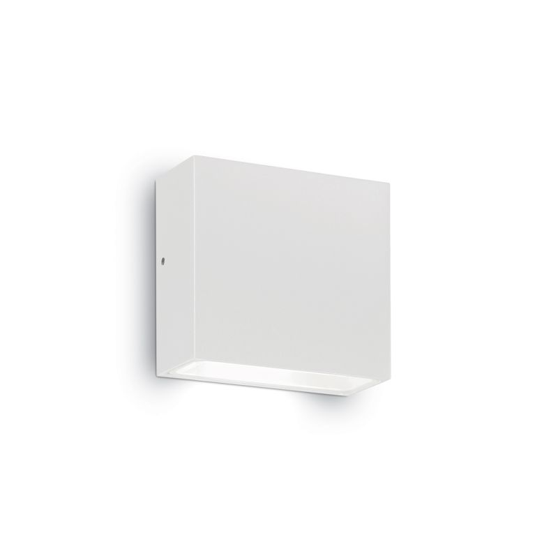 IdealLux-114293 - Tetris-1 - Outdoor White Wall Lamp