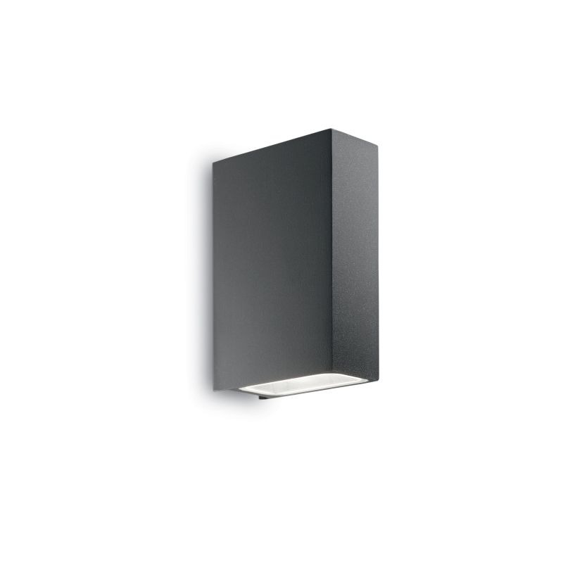 IdealLux-113791 - Tetris-2 - Outdoor Anthracite Up&Down Rectangle Wall Lamp