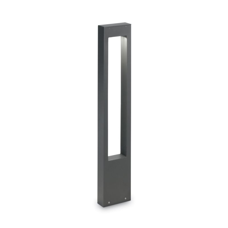 IdealLux-136028 - Vega - Outdoor Anthracite Rectangle Bollard