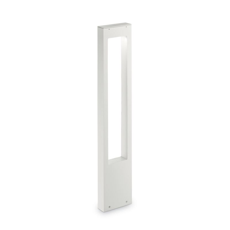 IdealLux-136035 - Vega - Outdoor White Rectangle Bollard