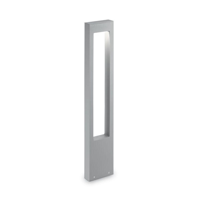 IdealLux-136042 - Vega - Outdoor Grey Rectangle Bollard