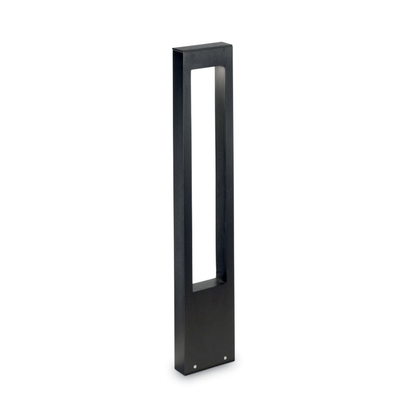 IdealLux-136059 - Vega - Outdoor Black Rectangle Bollard