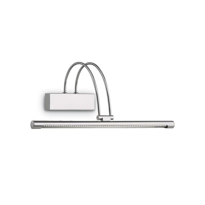IdealLux-007045 - Bow - Medium LED Chrome Picture Lamp