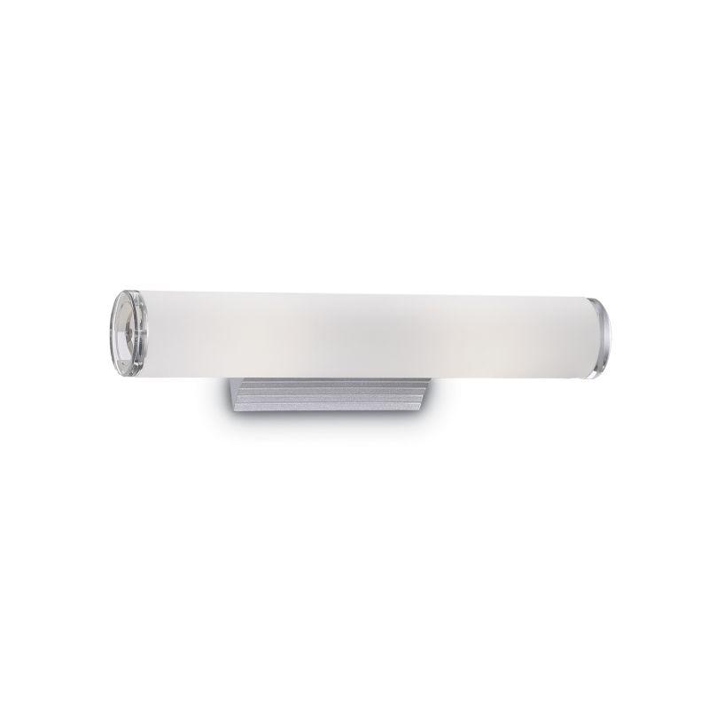 IdealLux-027081 - Camerino - Bathroom White Glass 2 Light Wall Lamp over Mirror