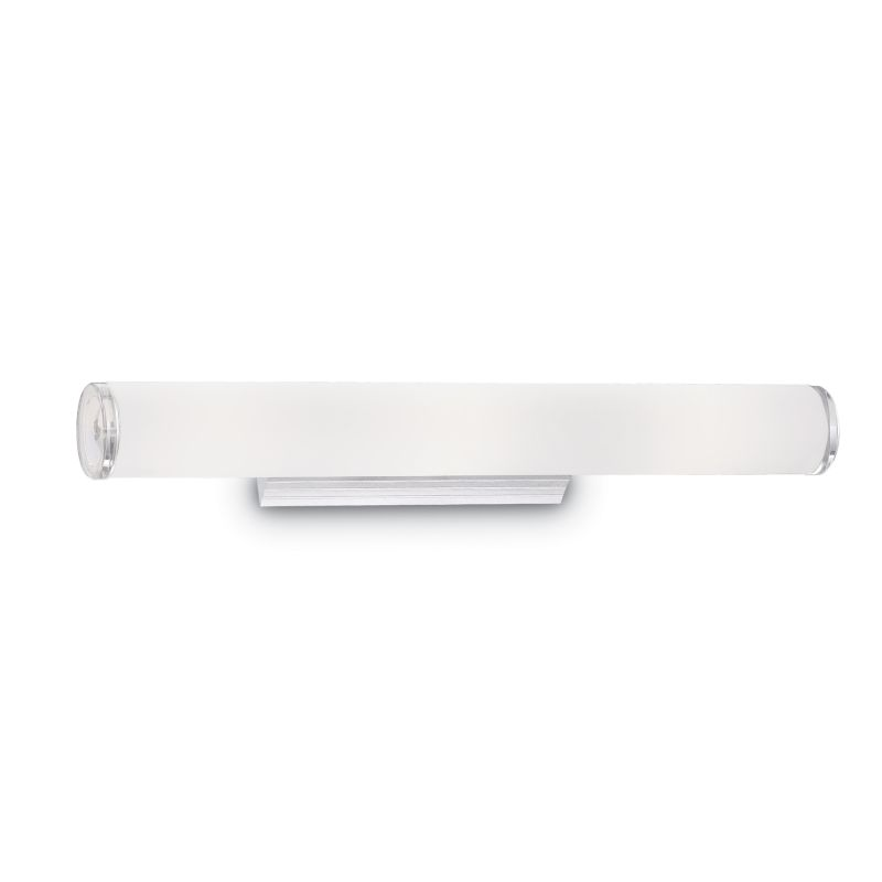 IdealLux-027104 - Camerino - Bathroom White Glass 4 Light Wall Lamp over Mirror