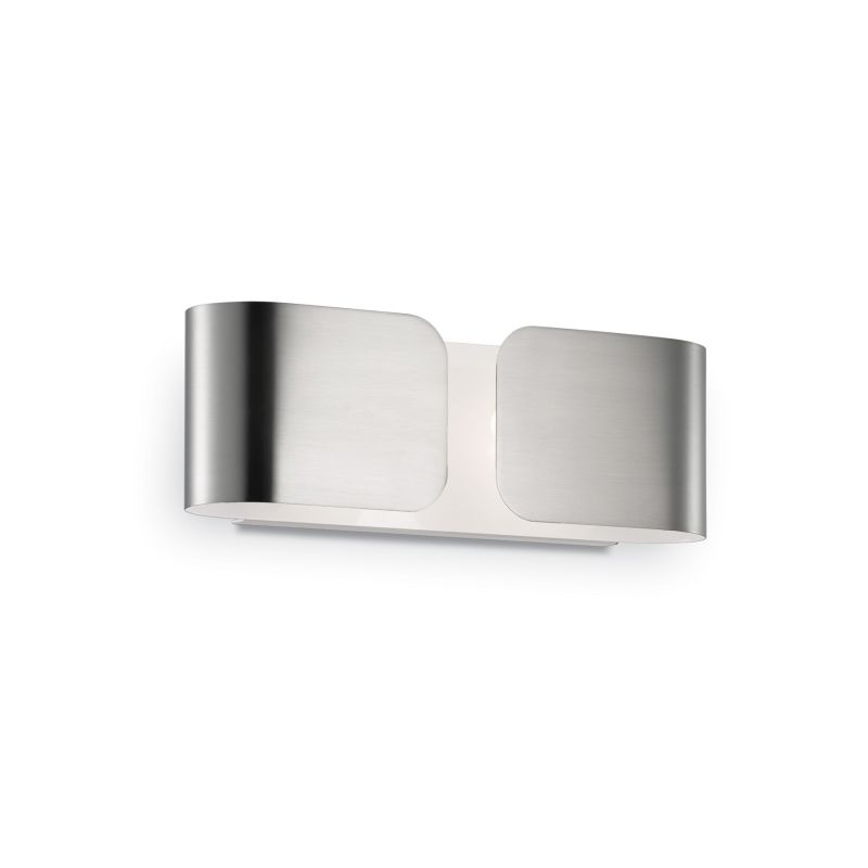 IdealLux-049229 - Clip - Small Chrome Metal Up & Down Wall Lamp