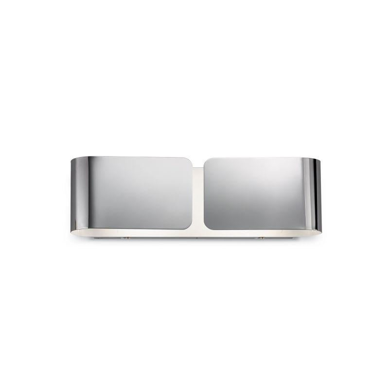 IdealLux-031361 - Clip - Big Chrome Metal Up & Down Wall Lamp