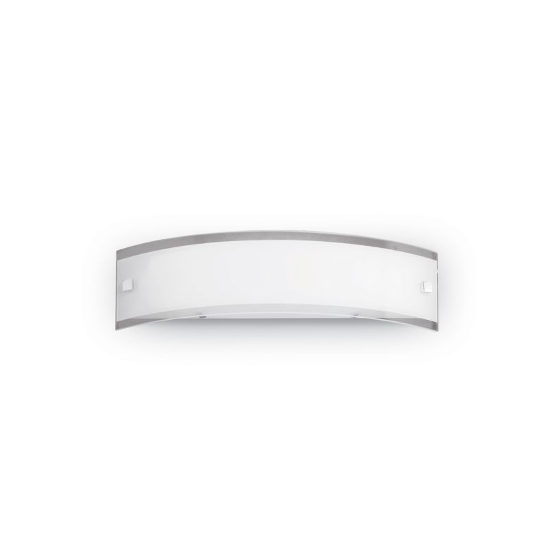 IdealLux-005294 - Denis - Small Frosted and Transparent Glass Wall Lamp
