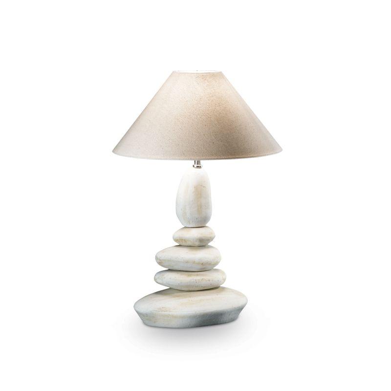 IdealLux-034942 - Dolomiti - Big Ceramic Stone Table Lamp