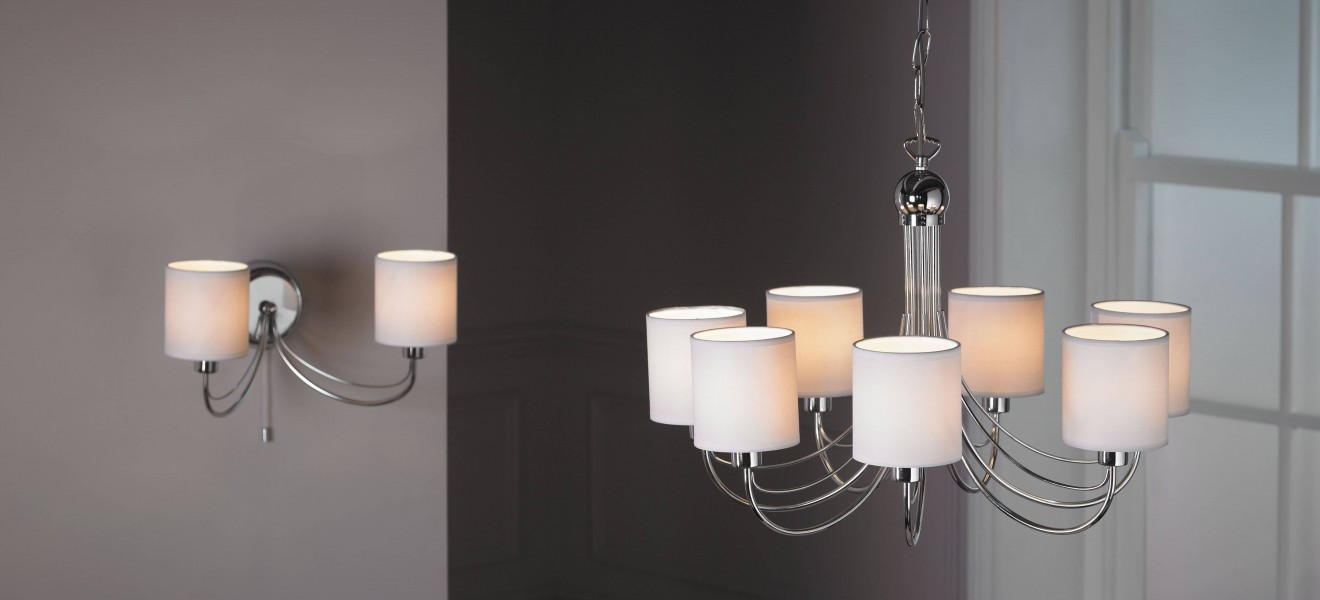 chrome-pendant-with-matching-wall-light
